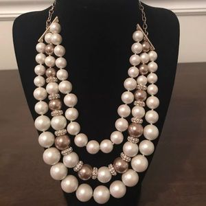 Kate Spade Pure Pearl Layered Statement Necklace